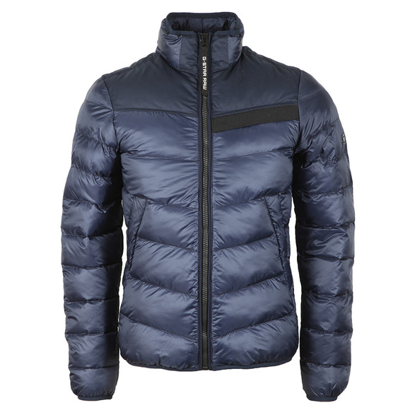 G-Star Mens Blue Deline Quilted Jacket main image