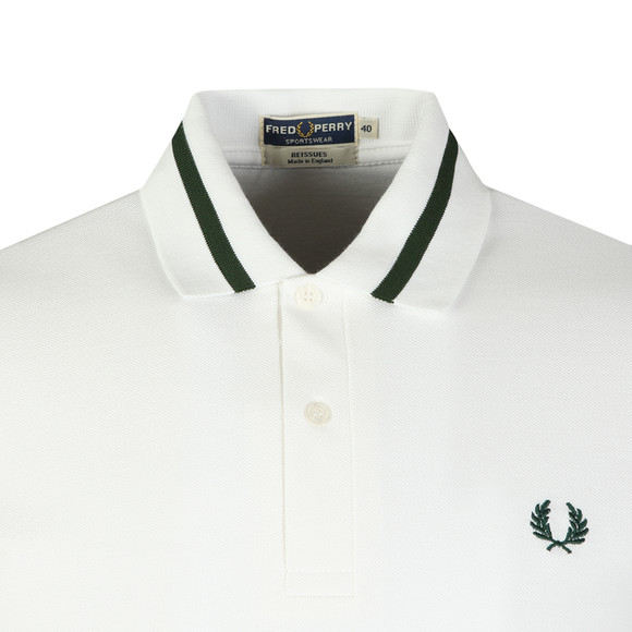 Fred Perry (Reissues) Mens White S/S Single Tipped Polo main image