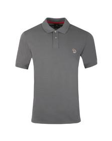 PS Paul Smith Mens Grey Zebra SS Polo Shirt