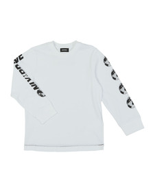 Diesel Boys White Tarto T Shirt