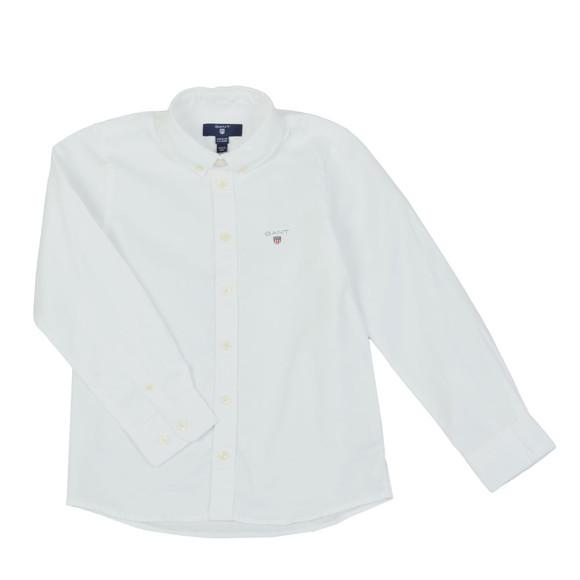 Gant Boys White TB Archive Oxford Shirt main image