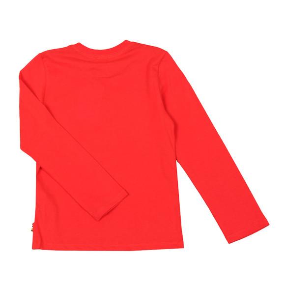 Paul Smith Junior Boys Red Zebrasaurus T  Shirt main image