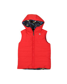 Paul Smith Junior Boys Red Reversible Gilet