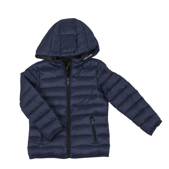 Emporio Armani Boys Blue Hooded Down Jacket main image