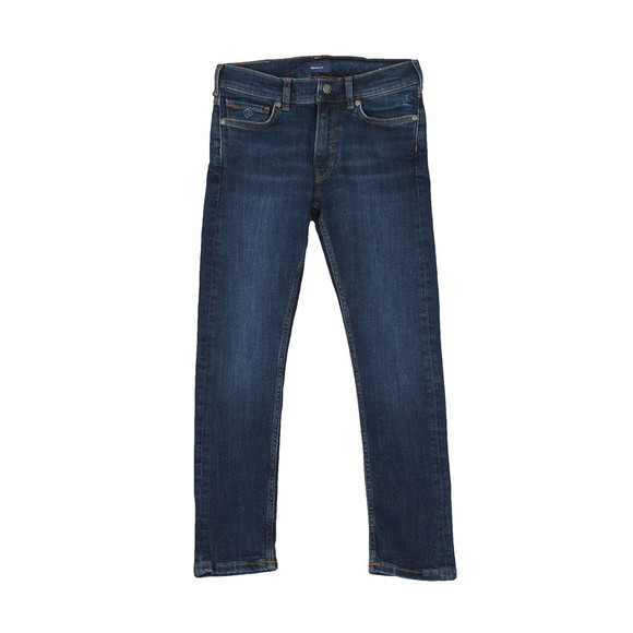 Gant Boys Blue TB Slim Jean main image