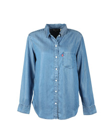 Levi's Womens Blue Ultimate Boyfriend Shirt