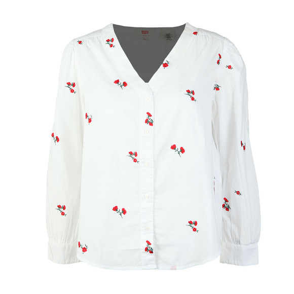 Levi's Womens Red Malika Shirt main image
