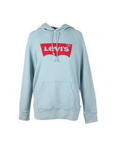 Levi's Womens Blue Graphic Sport Hoody