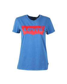 Levi's Womens Blue Perfect Logo Shirt