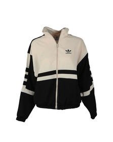 Adidas Originals Womens Black Two Tone Track Top