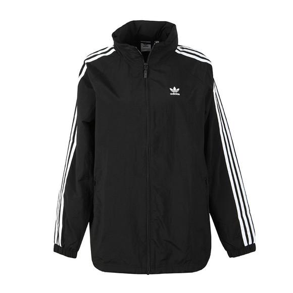 adidas Originals Womens Black Stadium Jacket main image