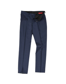 HUGO Mens Blue Getlin 182 Slim Trouser