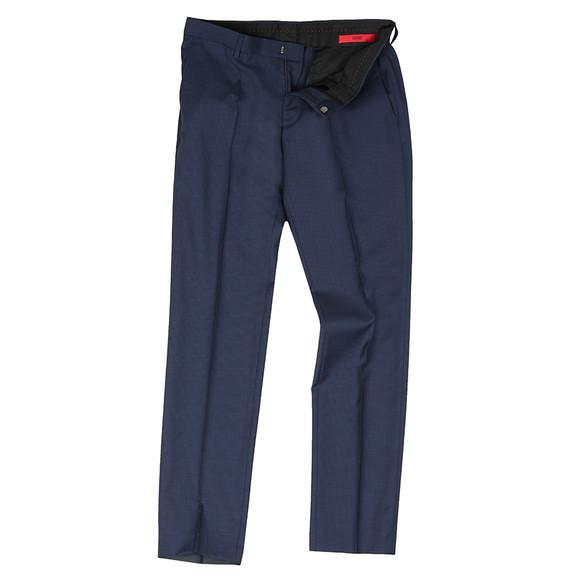 HUGO Mens Blue Getlin 182 Slim Trouser
