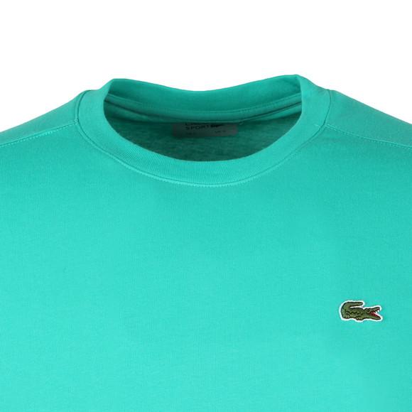 Lacoste Sport Mens Green TH7618 Plain T-Shirt main image