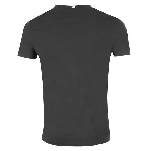 True Religion Mens Black Zebra Horseshoe Print T Shirt main image