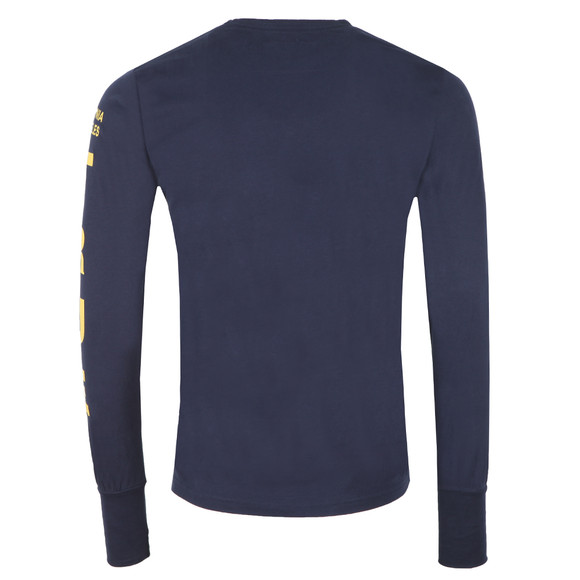True Religion Mens Blue Buddha Long Sleeve T Shirt main image