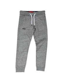Superdry Mens Grey Orange Label Jogger