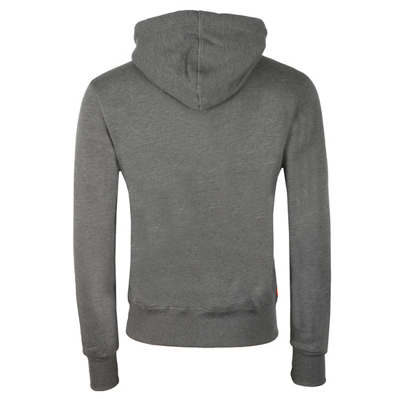 Superdry Mens Grey Sweat Shirt Shop Duo Hood main image