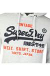 Superdry Mens Grey Sweat Shirt Shop Duo Hood