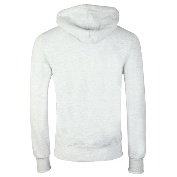 Superdry Mens Grey Sweat Shirt Shop Duo Hood main image