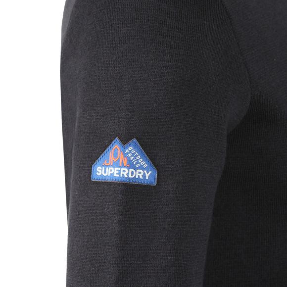 Superdry Mens Blue Metropolitan Northside Henley main image