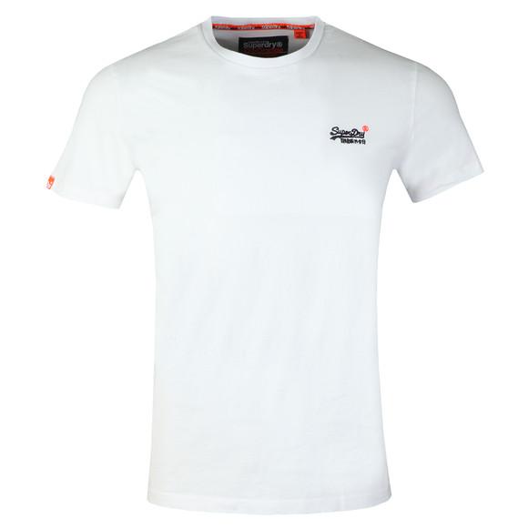 Superdry Mens White Vintage Emb T-Shirt main image
