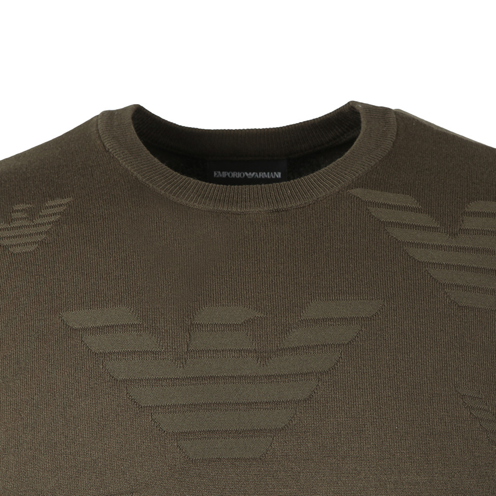 Allover Eagle Pattern Jumper main image