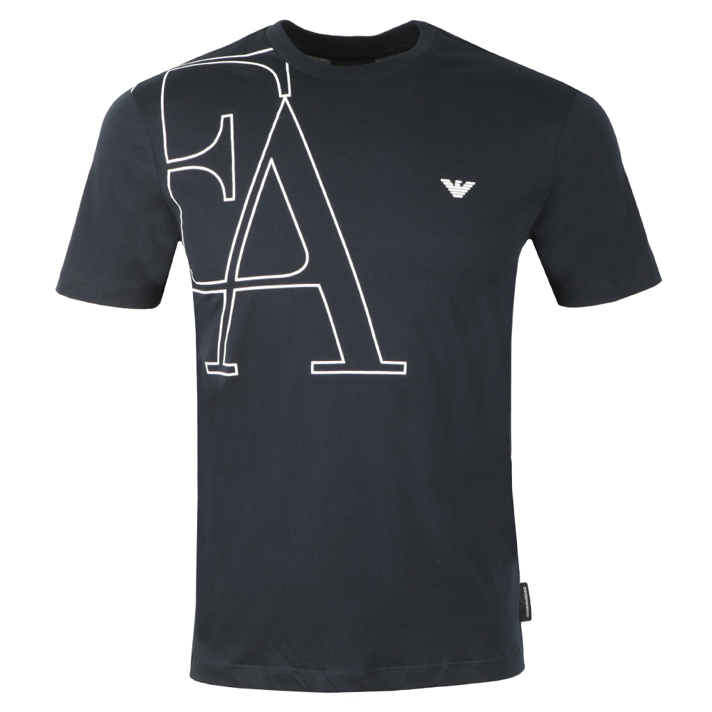 EA Small Eagle Logo T Shirt main image