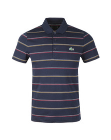Lacoste Sport Mens Blue S/S DH9471 Polo