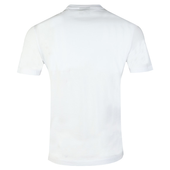 Emporio Armani Mens White EA Small Eagle Logo T Shirt main image