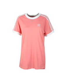 Adidas Originals Womens Pink 3 Stripes Tee