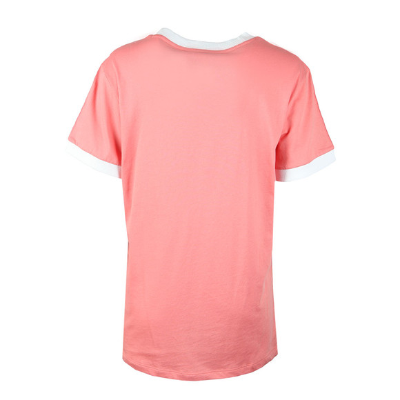 Adidas Originals Womens Pink 3 Stripes Tee main image