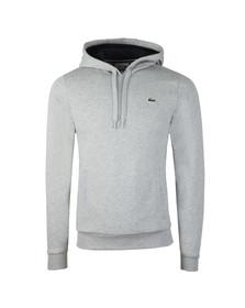 Lacoste Sport Mens Grey SH2128 Hooded Sweat
