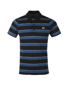 Lacoste Sport Mens Black S/S YH9470 Polo