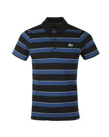 Lacoste Sport Mens Black S/S YH9470 Polo