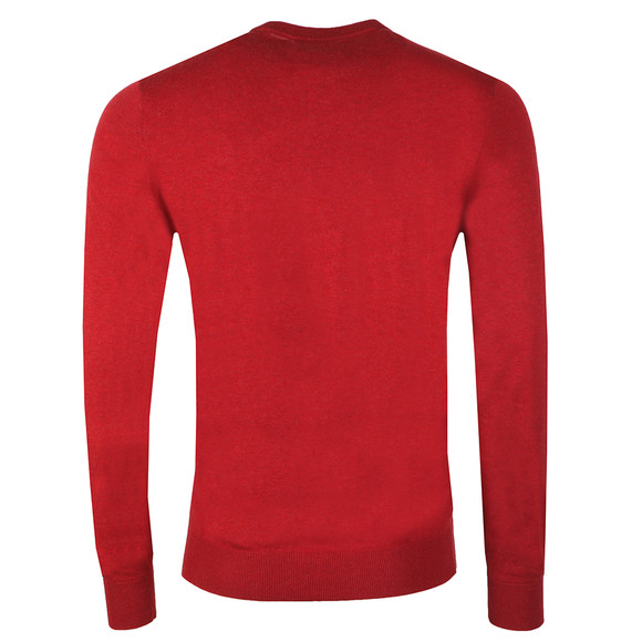 Original Penguin Mens Red Supima Cotton Jumper main image