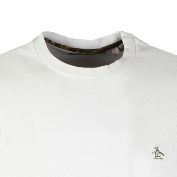 Original Penguin Mens White S/S Camo Logo Tee main image
