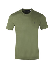Original Penguin Mens Green Pin Point Tee
