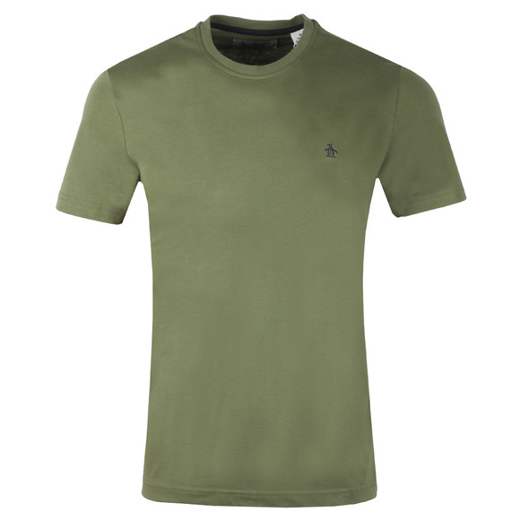 Original Penguin Mens Green Pin Point Tee main image