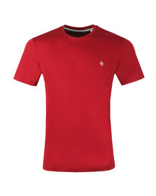 Original Penguin Mens Red Pin Point Tee