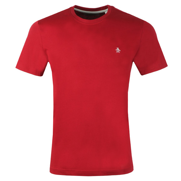 Original Penguin Mens Red Pin Point Tee main image