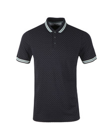 Ted Baker Mens Blue Museo Mini Spot Polo