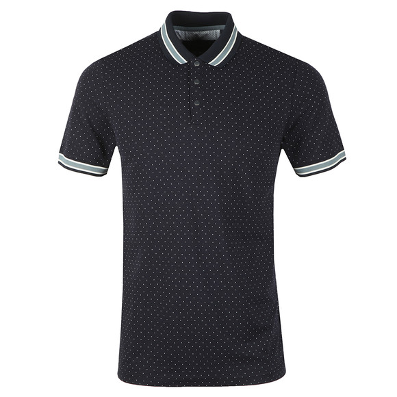 Ted Baker Mens Blue Museo Mini Spot Polo main image