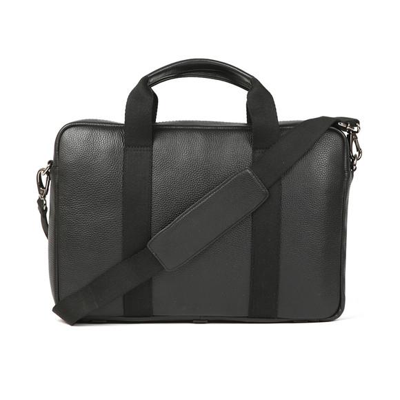 Ted Baker Mens Black Importa Leather Document Bag main image