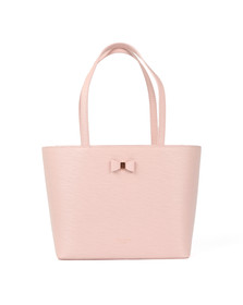 Ted Baker Womens Pink Deanie Bow Detail Small Shopper