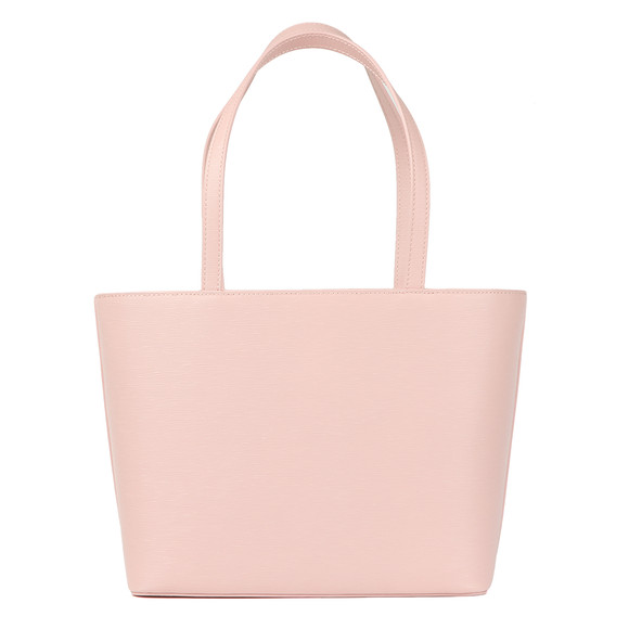 Ted Baker Womens Pink Deanie Bow Detail Small Shopper main image