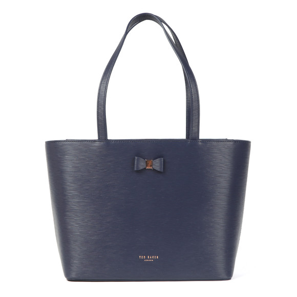 Ted Baker Womens Blue Deanie Bow Detail Small Shopper main image