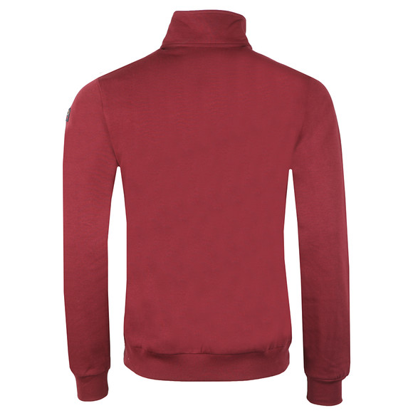 Paul & Shark Mens Red Half Zip Sweatshirt main image