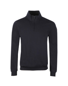 Paul & Shark Mens Blue Half Zip Sweatshirt