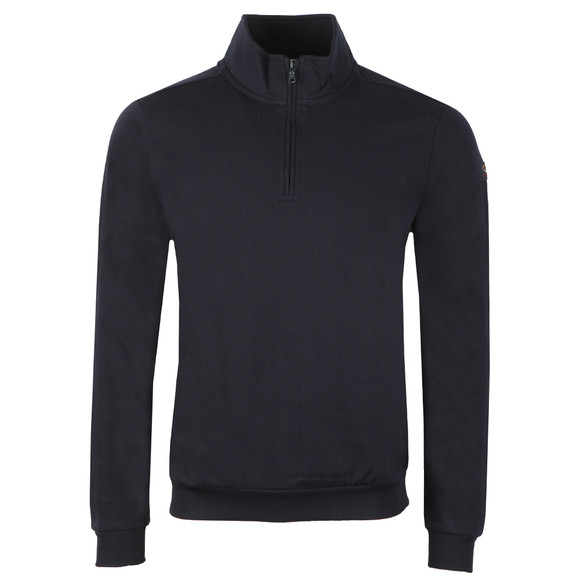 Paul & Shark Mens Blue Half Zip Sweatshirt main image